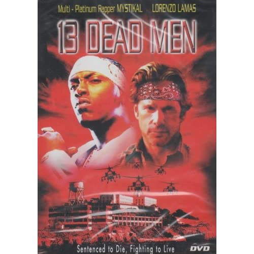 13 Dead Men Slim Case On DVD with Mystikal