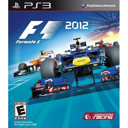 Image 0 of F1: 2012 For PlayStation 3 PS3 Racing