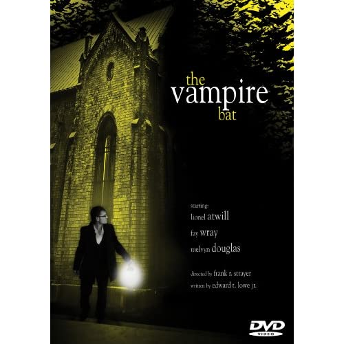 Image 0 of The Vampire Bat On DVD with Lionel Atwill Horror