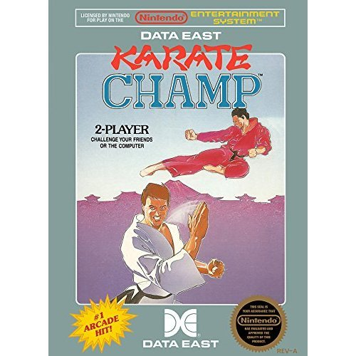 Karate Champ For Nintendo NES Vintage Fighting