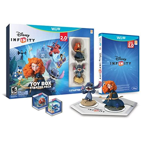 Disney Infinity: Toy Box Starter Pack 2.0 Edition For Wii U 1192790000000