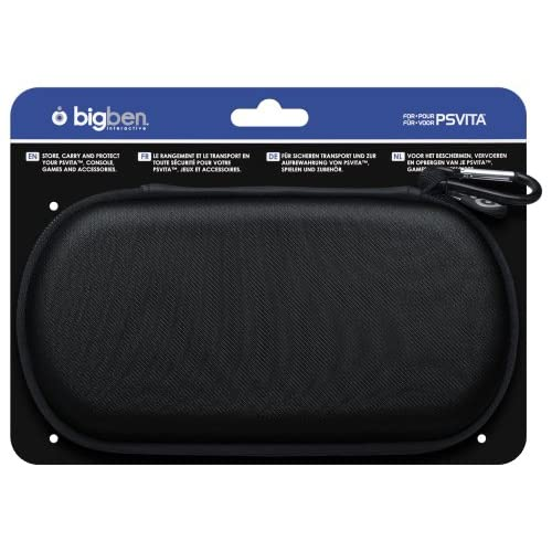 Bigben Fabric Pouch For PlayStation Vita Black For Ps Vita HWZ570