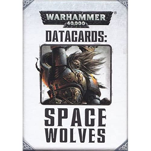 Image 0 of Games Workshop Datacards Space Wolves 2014 Edition TCG