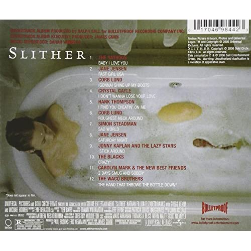 Image 2 of Slither: Music From The Motion Picture On Audio CD Album 2006