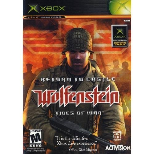 Image 0 of Return To Castle Wolfenstein: Tides Of War Xbox For Xbox Original Shooter