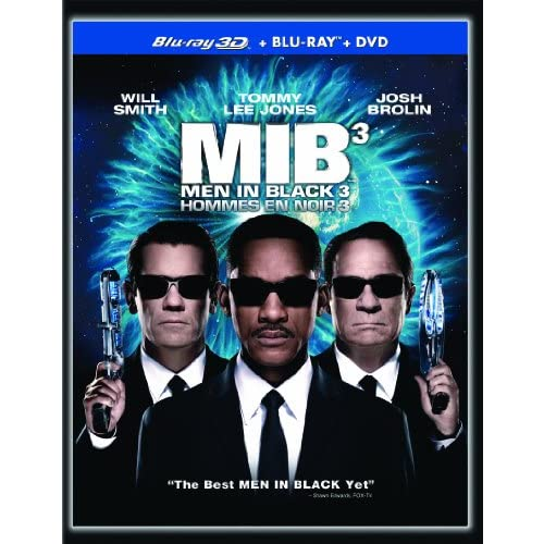 Men In Black 3 3D / Hommes En Noir 3 3D Bilingual 3D DVD On Blu-Ray