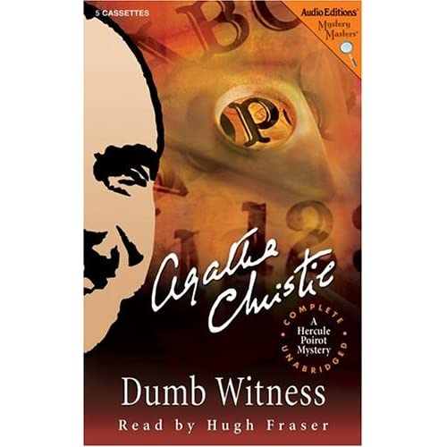 Image 0 of Dumb Witness: A Hercule Poirot Mystery Hercule Poirot Mysteries By Christie Agat