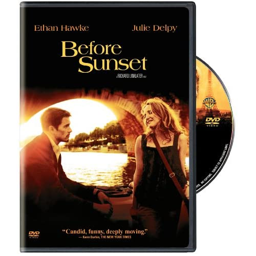 Image 0 of Before Sunset On DVD With Ethan Hawke Drama