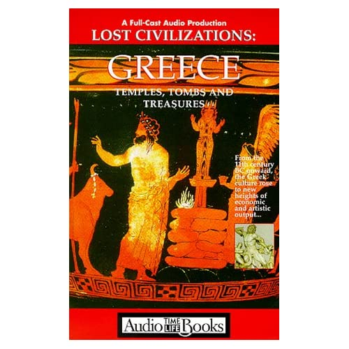 Image 0 of Lost Civilizations: Greece: Temples Tombs And Treasures Time Life Book Series By