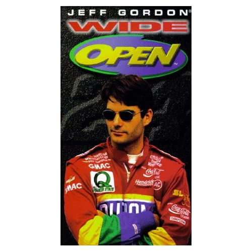 Image 0 of Jeff Gordon Wide Open On VHS