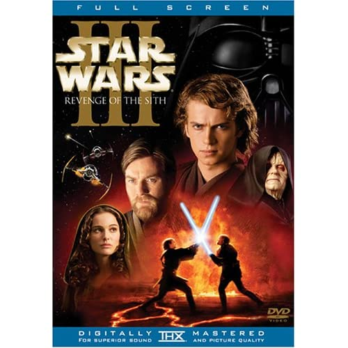 Image 0 of Star Wars Episode III: Revenge Of The Sith Full Screen Edition On DVD With Ewan