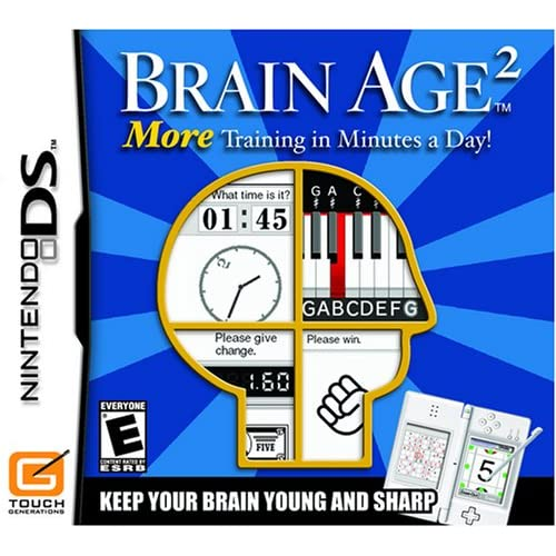 Image 0 of Brain Age 2: More Training In Minutes A Day For Nintendo DS DSi 3DS 2DS