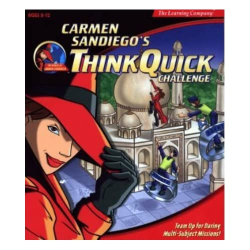 Image 0 of Carmen Sandiego Think Quick Challenge Software