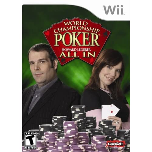 Image 0 of World Championship Poker: All In For Wii With Manual and Case
