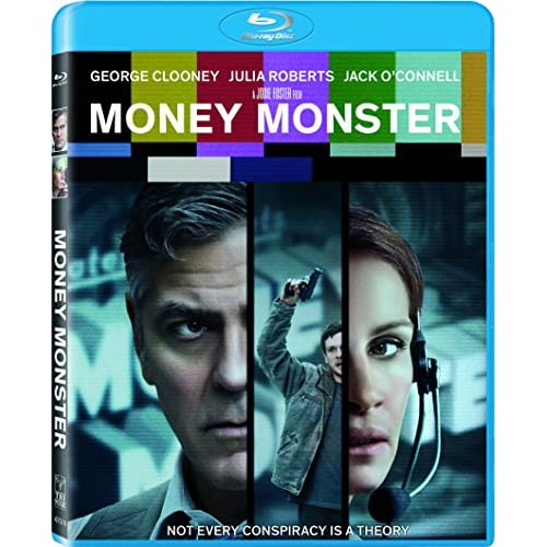 Image 0 of Money Monster Blu-Ray On Blu-Ray With George Clooney Drama
