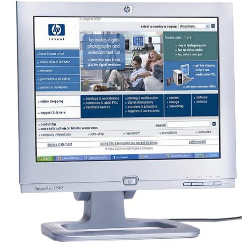 HP Pavilion F1503 15 Inch LCD Monitor