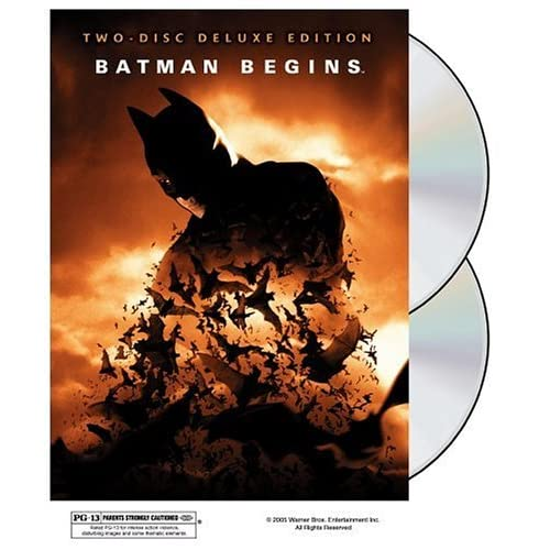 Image 0 of Batman Begins Two-Disc Deluxe Edition On DVD With Christian Bale 2