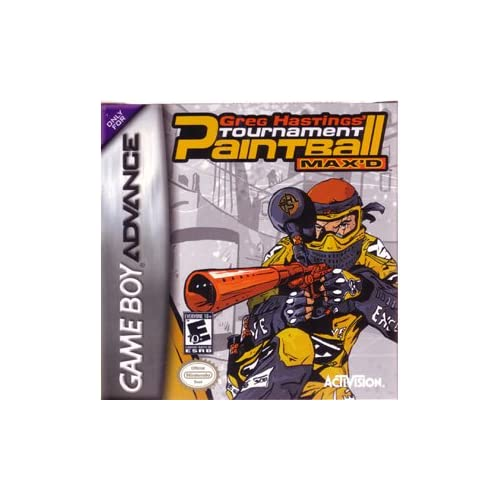 Image 0 of Greg Hastings' Tournament Paintball Max'd GBA Action For GBA Gameboy Advance