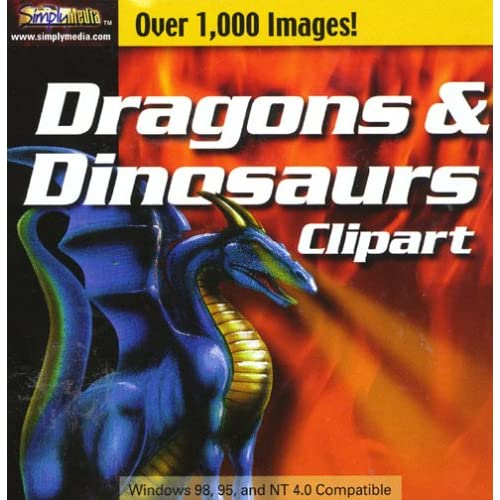 Image 0 of Dragons & Dinosaurs Clipart Software