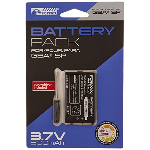Image 0 of KMD GBA SP Replacement Lithium ION Battery With Screwdriver Game Boy Advance