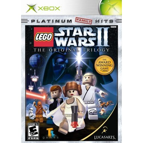 Original Xbox Games For Xbox : Lego star wars ii the original trilogy xbox for