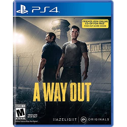 A Way Out For PlayStation 4 PS4