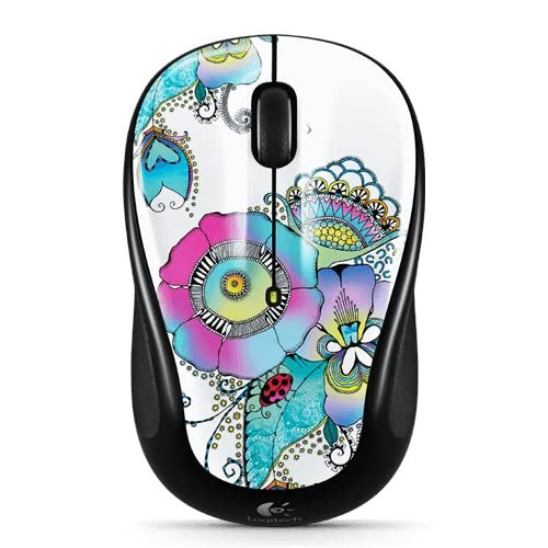 Image 0 of Logitech M325 Wireless Mouse With Designed-For-Web Scrolling Lady On The Lily