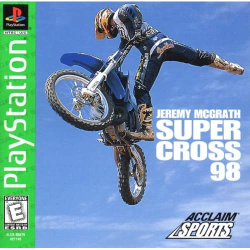 Image 0 of Jeremy McGrath Super Cross 98 PS1 Sony PlayStation Only No Game Sony PlayStation