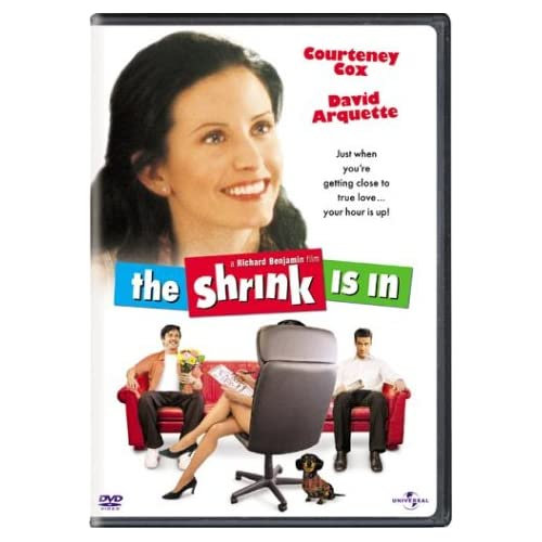 Image 0 of The Shrink Is In On DVD with David Arquette Comedy