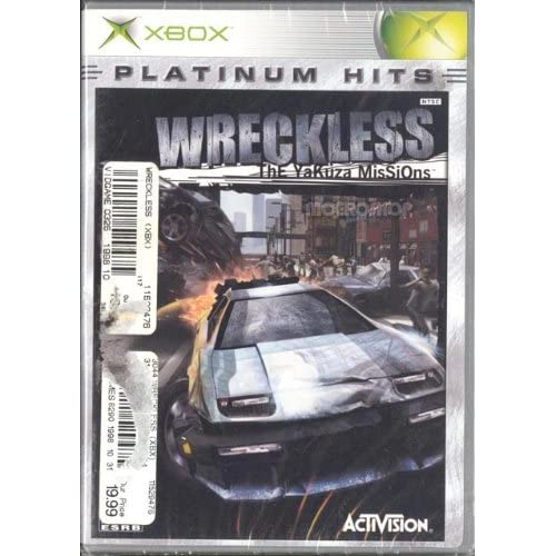 Image 0 of Wreckless: The Yakuza Missions For Xbox Original