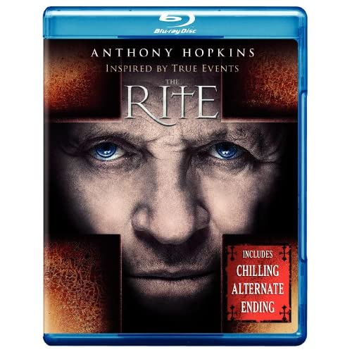 Image 0 of The Rite Blu-Ray On Blu-Ray With Anthony Hopkins Mystery