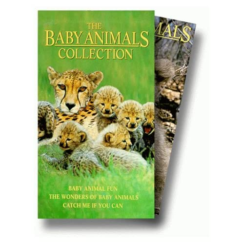 Baby Animals Collection Set On VHS