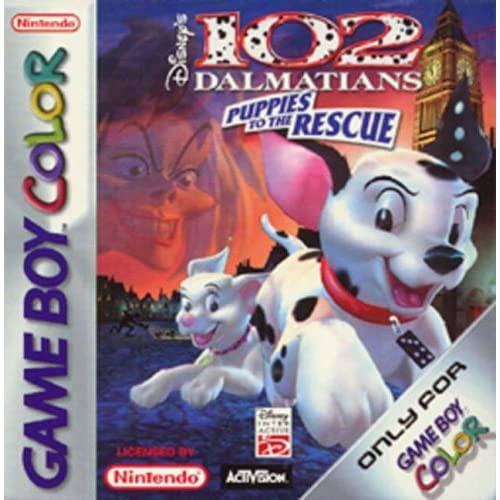 102 Dalmatians On Gameboy Color