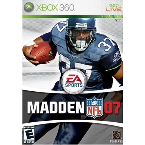 Madden NFL 07 For Xbox 360 Football