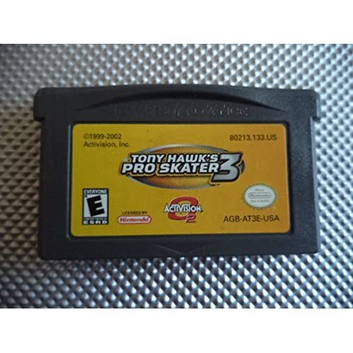 Tony Hawk Pro Skater 3 GBA For GBA Gameboy Advance