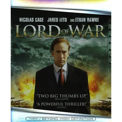 Image 0 of Lord Of War Blu-Ray On Blu-Ray With Nicolas Cage