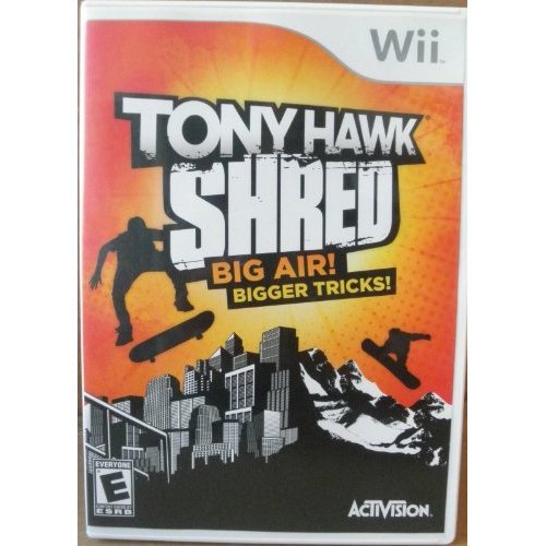 Image 0 of Tony Hawk: Shred: Big Air! Bigger Tricks! Rated E For Wii Extreme Sports