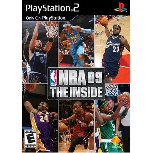NBA '09 The Inside For PlayStation 2 PS2 Basketball