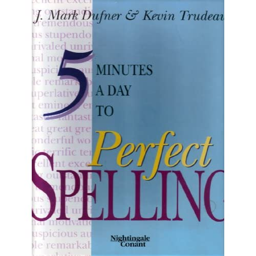 Image 0 of 5 Minutes A Day To Perfect Spelling Audio Seminar Six Set J Mark Dufner And Kevi