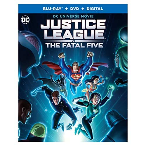 Image 0 of Justice League Vs The Fatal Five Bd Blu-Ray On Blu-Ray 5