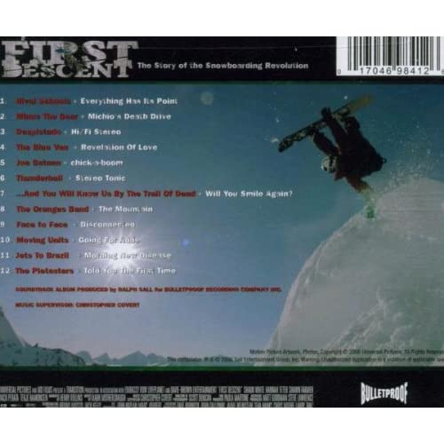 Image 2 of First Descent: The Story Of The Snowboarding Revolution By Rival