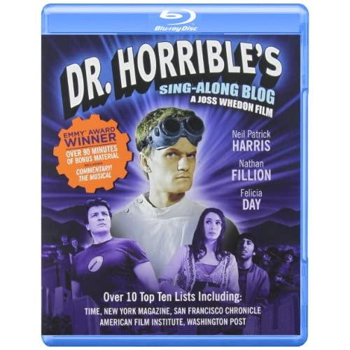 Dr Horribles Sing-Along Blog Blu Ray On Blu-Ray With Neil Patrick Harris