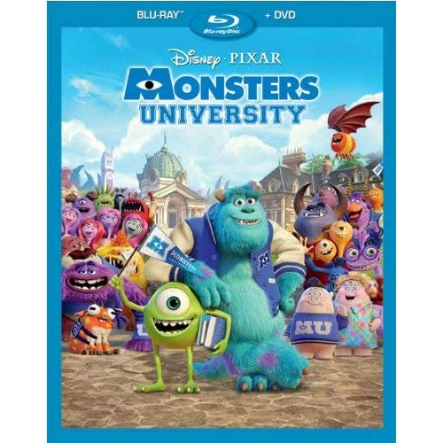 Image 0 of Monsters University Blu-Ray Combo Pack On Blu-Ray With Billy Crystal Disney