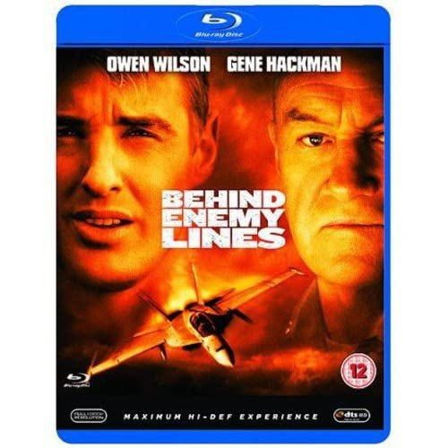 Behind Enemy Lines Blu-Ray On Blu-Ray With Joaquim De Almeida