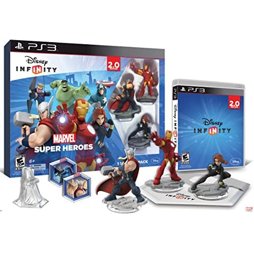 Image 0 of Disney Infinity: Marvel Super Heroes 2.0 Edition Video Game Starter Pack For Pla