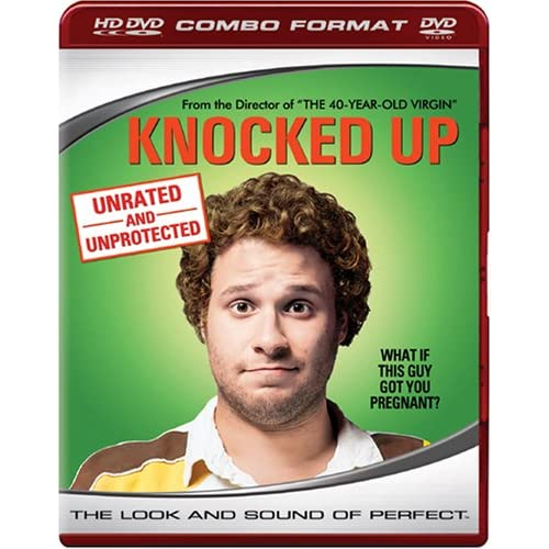 Knocked Up Combo And Standard DVD On HD DVD