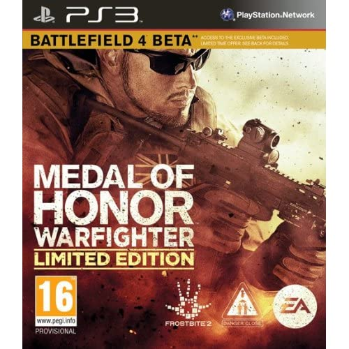 Medal Of Honor: Warfighter Limited Edition PS3 For PlayStation 3