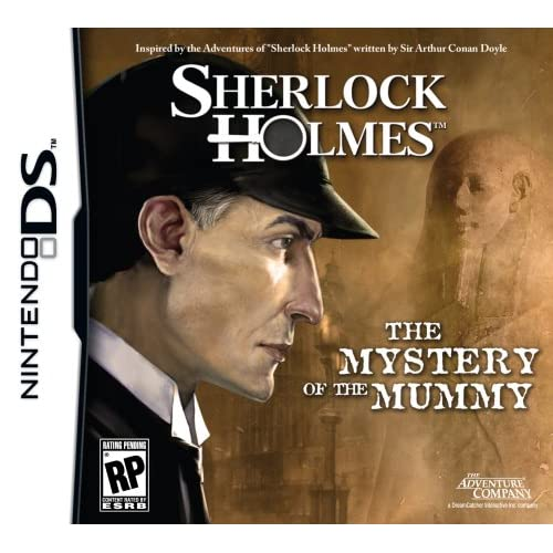 Image 0 of Sherlock Holmes: The Mystery Of The Mummy For Nintendo DS DSi 3DS 2DS