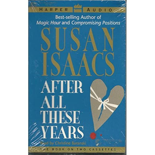 Image 0 of After All These Years/cassettes By Susan Isaacs On Audio Cassette