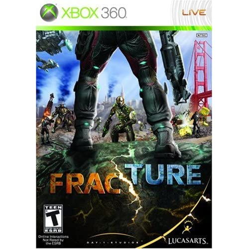 Fracture For Xbox 360 Fighting
